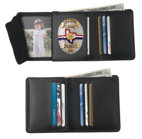 credit card badge wallet