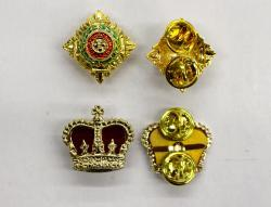 Pips and Crowns for shoulder boards
